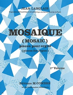 Jean Langlais - Mosaic Volume 1 Opus 190 - Sheet Music - di-arezzo.co.uk