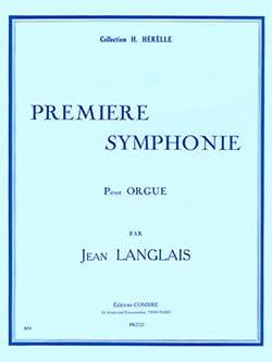 Jean Langlais - 1ère Symphonie Opus 37 - Partition - di-arezzo.fr
