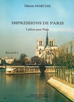 Impressions de Paris Volume 2 Marian Marciak Partition laflutedepan