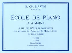 Robert-Charles Martin - Piano School 4 Hands Volume 2 Opus 128 - Sheet Music - di-arezzo.co.uk