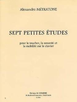 7 Petites Etudes Pour le Toucher, la Sonorité Piano - laflutedepan.com