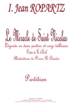 Le Miracle de Saint Nicolas Guy Ropartz Partition Chœur - laflutedepan