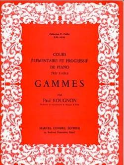 Traité Complet de Gammes Rougnon Partition Piano - laflutedepan