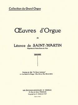 Le Salut A la Vierge Op. 34 Léonce de Saint-Martin laflutedepan
