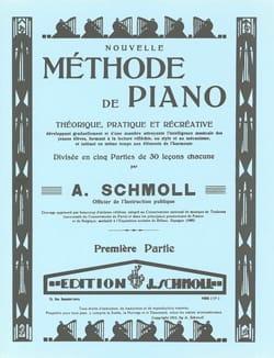 Nouvelle Méthode De Piano. Vol 1 - A Schmoll - laflutedepan.com