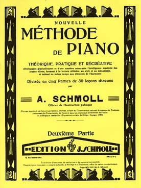 Nouvelle Méthode De Piano Volume 2 - Anton Schmoll - laflutedepan.com