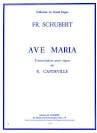 SCHUBERT - Ave Maria. Organ - Sheet Music - di-arezzo.co.uk