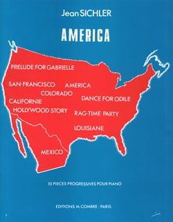 America Jean Sichler Partition Piano - laflutedepan