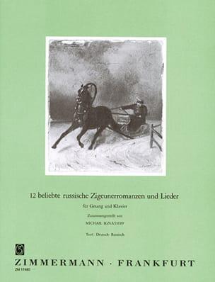 - 12 Beliebte Russische Zigeunerromanzen Und Lieder - Partition - di-arezzo.fr