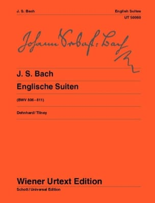 BACH - 6 English Suites - Sheet Music - di-arezzo.com