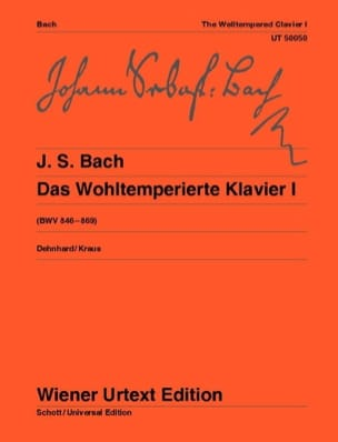 BACH - The Well Tempered Keyboard. Volume 1 - Sheet Music - di-arezzo.com