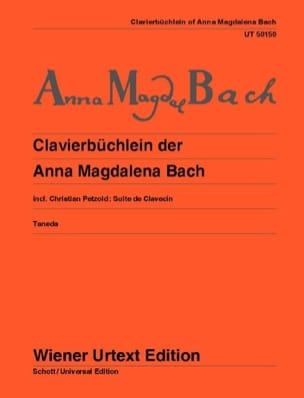 Petit Livre Pour Anna Magdalena Bach - BACH - laflutedepan.com