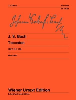 Toccatas - BACH - Partition - Piano - laflutedepan.com