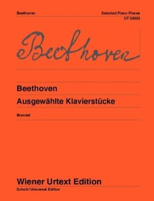 BEETHOVEN - Ausgewählte klavierstücke - Sheet Music - di-arezzo.co.uk