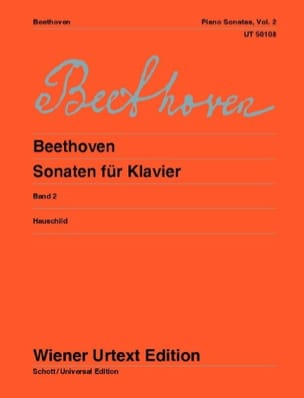 BEETHOVEN - Sonates Pour Piano - Volume 2 - Partition - di-arezzo.fr