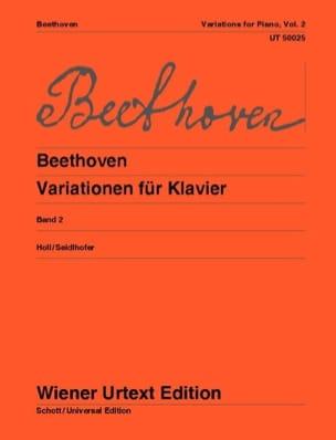 Variations pour piano, Volume 2 - laflutedepan.com