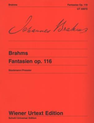 7 Fantasies Opus 116 BRAHMS Partition Piano - laflutedepan