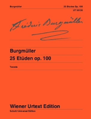 Frédéric Burgmuller - 25 Studies Opus 100 - Sheet Music - di-arezzo.co.uk