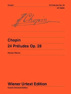 CHOPIN - 24 Preludes Opus 28 - Sheet Music - di-arezzo.co.uk