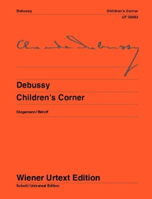 DEBUSSY - Children's Corner - Partition - di-arezzo.fr