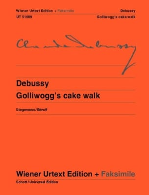 Golliwogg's Cake Walk + fac-similé - Claude Debussy - laflutedepan.com