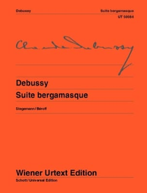 DEBUSSY - Bergamasque Suite - Sheet Music - di-arezzo.com