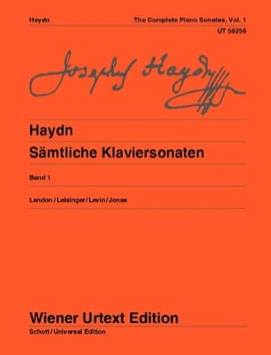 HAYDN - Sonatas for Piano Volume 1 - Sheet Music - di-arezzo.com