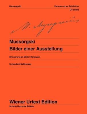 Bilder einer Ausstellung - Modest Moussorgsky - laflutedepan.com