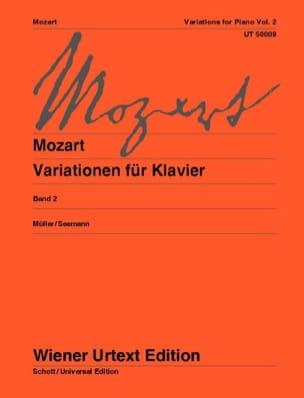 Variations pour piano. Volume 2 - MOZART - laflutedepan.com