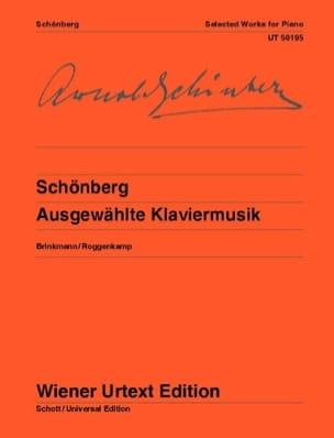 Ausgewählte Klavierwerke SCHOENBERG Partition Piano - laflutedepan