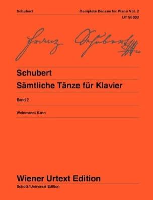 Danses pour piano. Volume 2 - SCHUBERT - Partition - laflutedepan.com