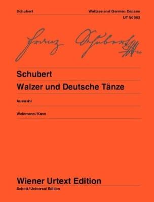 Walzer Und Deutsche Tänze - Franz Schubert - laflutedepan.com