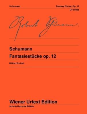 Robert Schumann - Fantasiestücke Opus 12 - Partition - di-arezzo.fr