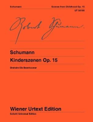 Scènes D'enfants Opus 15 SCHUMANN Partition Piano - laflutedepan