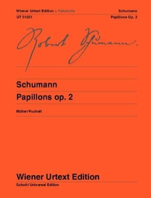 SCHUMANN - Papillons Op. 2 + fac-similé. - Partition - di-arezzo.fr