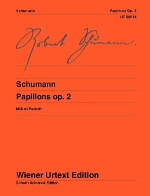 Robert Schumann - Papillons Opus 2 - Partition - di-arezzo.fr