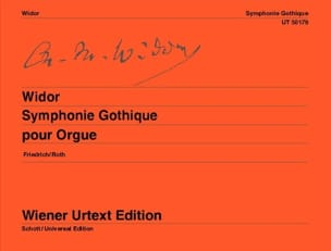 Charles-Marie Widor - Symphonie Gothique Opus 70 - Partition - di-arezzo.fr