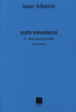 Asturias ALBENIZ Partition Piano - laflutedepan
