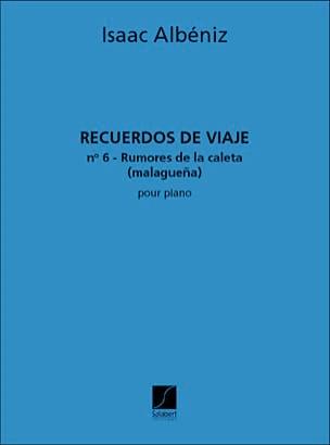 Isaac Albeniz - Rumors of Caleta: Malaguena - Sheet Music - di-arezzo.co.uk