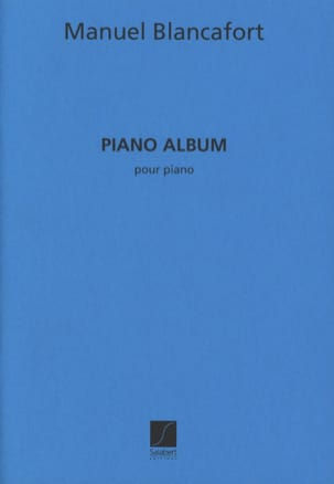 Manuel Blancafort - Piano Album - Partition - di-arezzo.fr