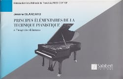 Jeanne Blancard - Elementary Principles of Pianistic Technique - Sheet Music - di-arezzo.co.uk