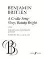 A cradle song BRITTEN Partition Duos - laflutedepan