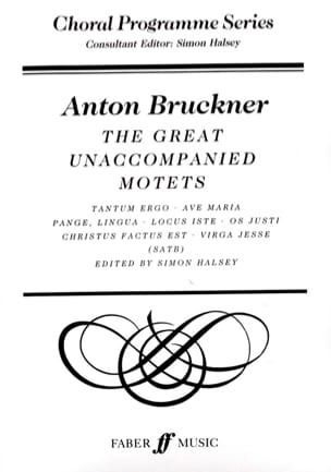 The Great Unaccompanied Motets BRUCKNER Partition Chœur - laflutedepan