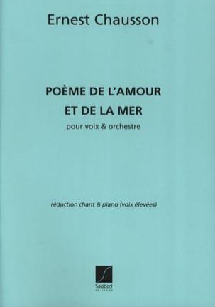 Poème de L'amour et la Mer Opus 19 Voix Haute - laflutedepan.com