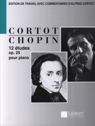 CHOPIN - 12 Opus Studies 25 - Sheet Music - di-arezzo.com
