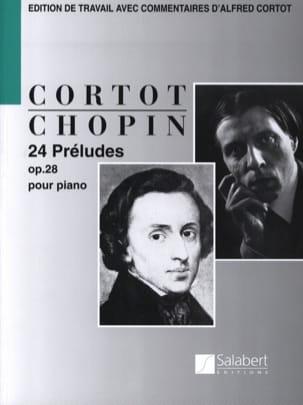 Frédéric Chopin - 24 Préludes Opus 28 - Partition - di-arezzo.fr