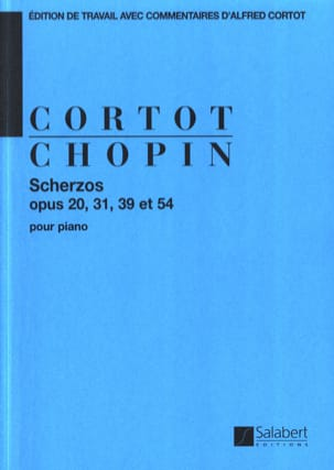 4 Scherzos CHOPIN Partition Piano - laflutedepan