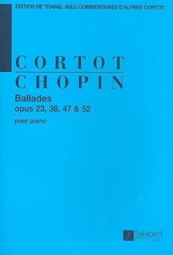 Frédéric Chopin - Ballades - Partition - di-arezzo.fr