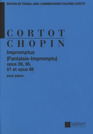 Impromptus CHOPIN Partition Piano - laflutedepan