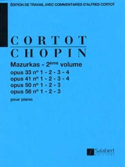 Mazurkas. Volume 2 CHOPIN Partition Piano - laflutedepan